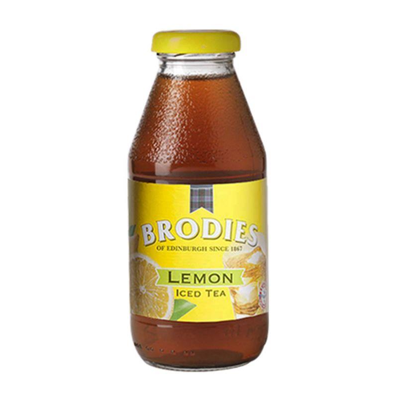 Cold tea - glass bottle limone