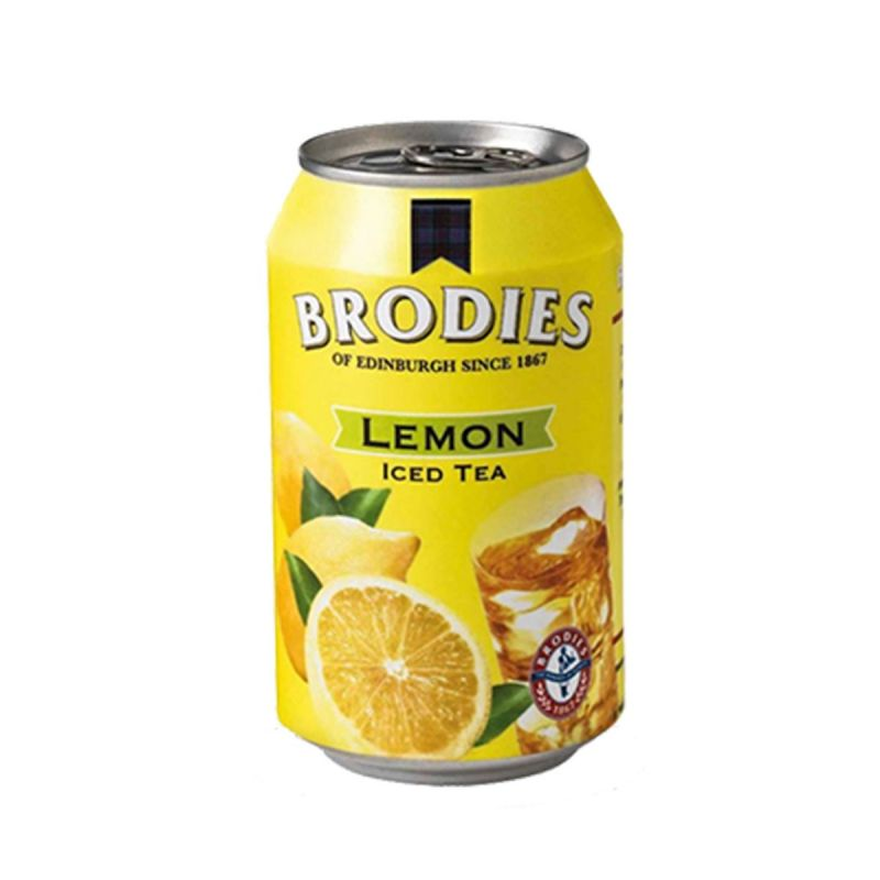 Cold tea - can limone