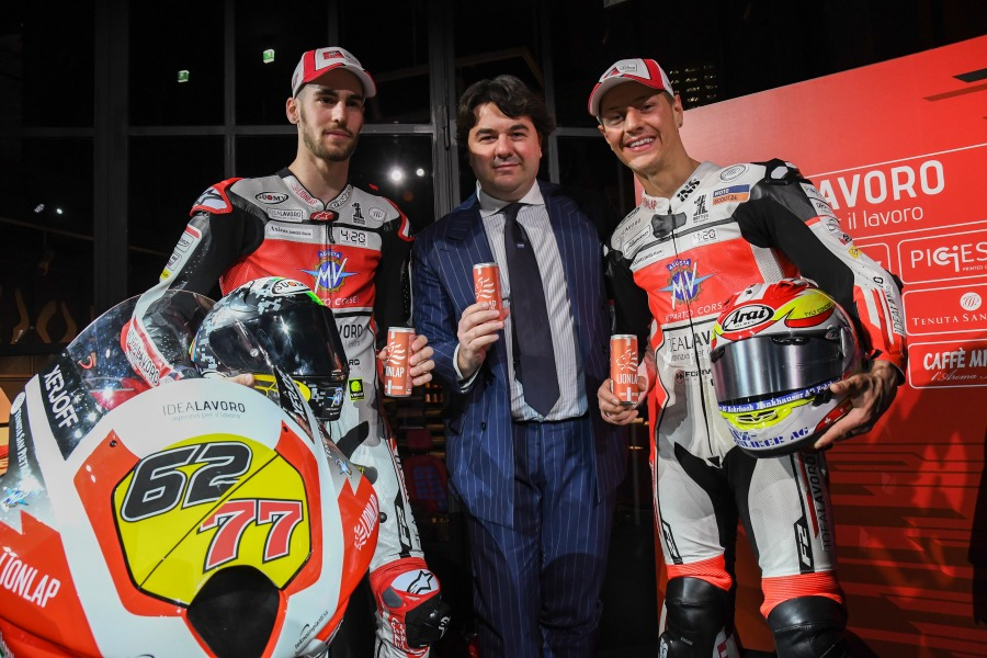 Lionlap official sponsor of the MV Agusta Forward Racing Team