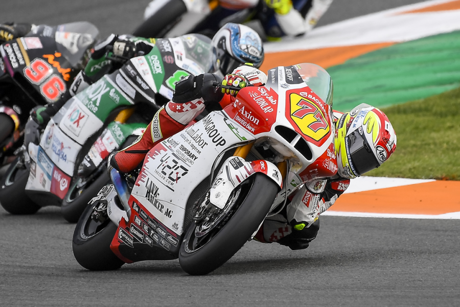 SZCS lands in Valencia at the Moto2 race