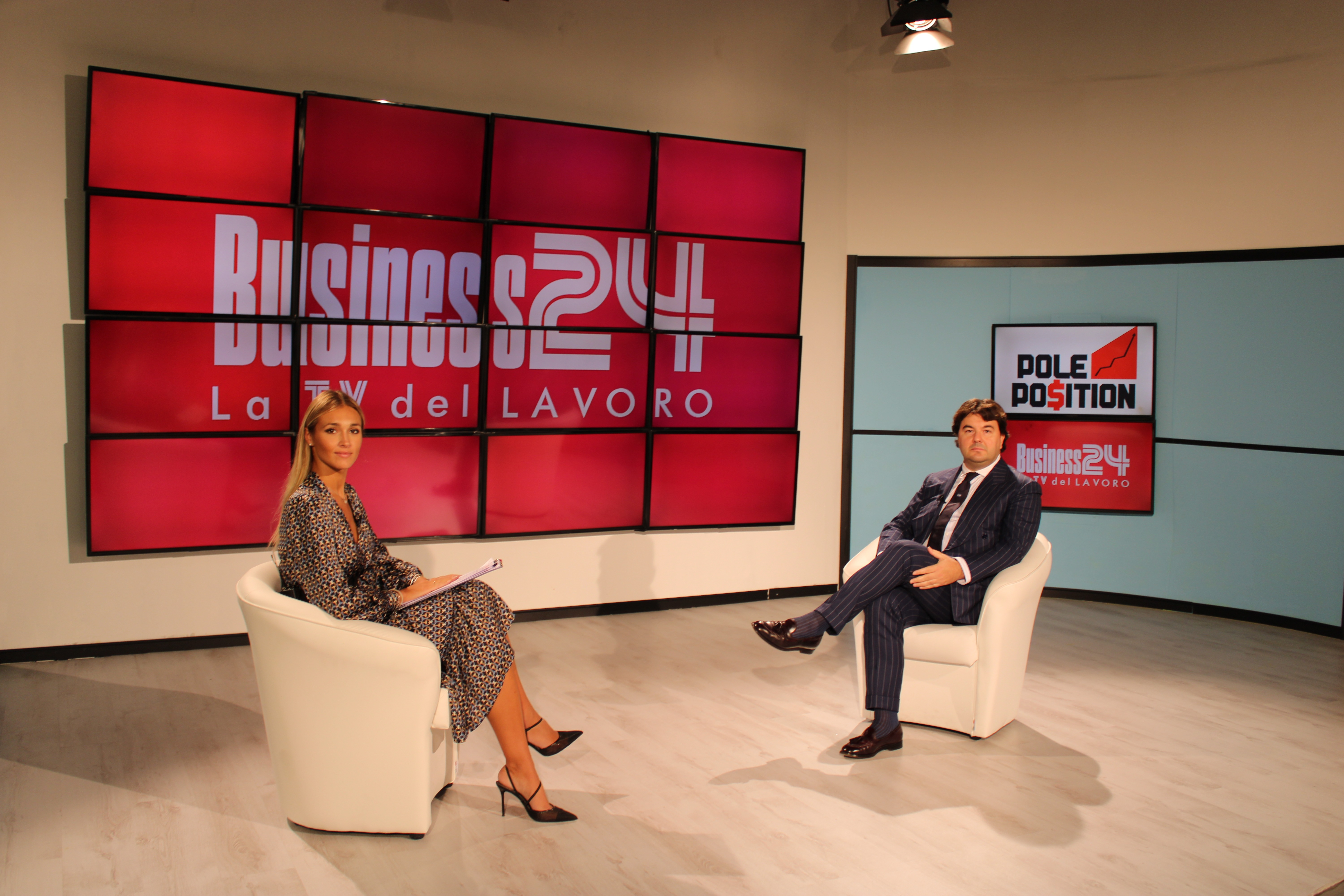 Interview with Matteo Zanetti on Pole Position TV programme